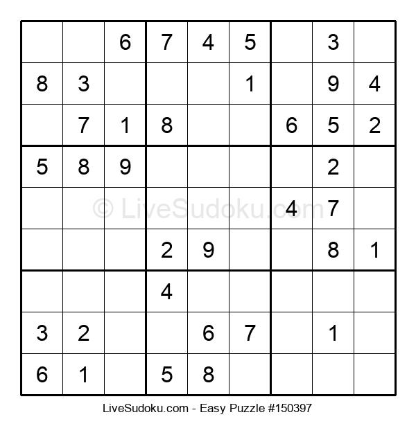 Beginners Puzzle #150397