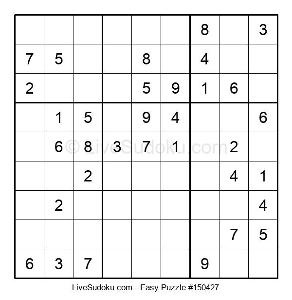 Beginners Puzzle #150427