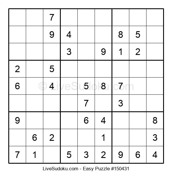 Beginners Puzzle #150431