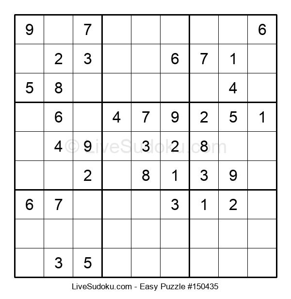 Beginners Puzzle #150435