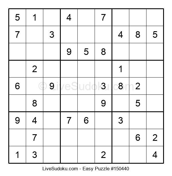Beginners Puzzle #150440
