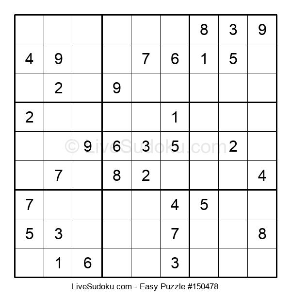 Beginners Puzzle #150478