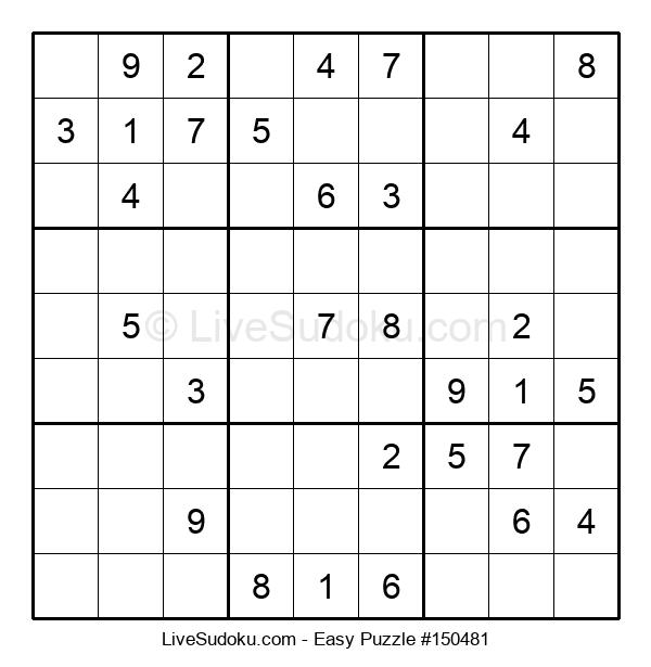 Beginners Puzzle #150481