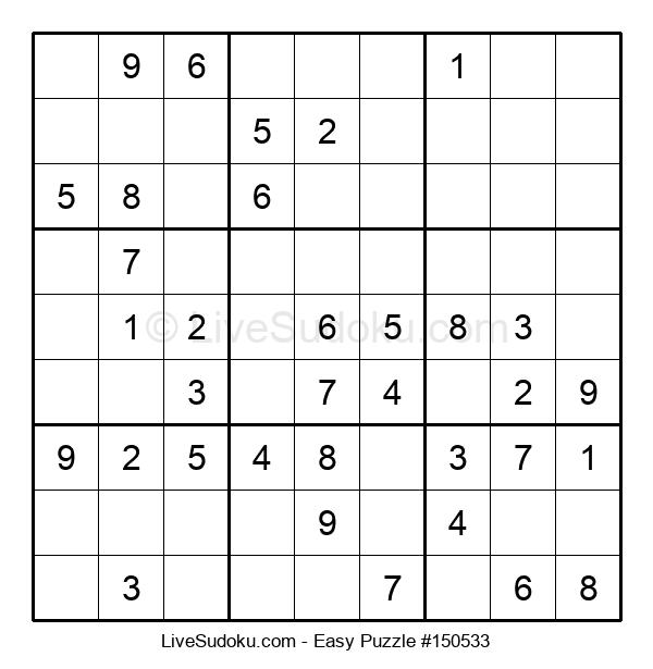 Beginners Puzzle #150533