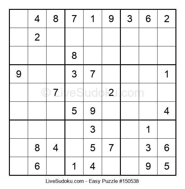 Beginners Puzzle #150538