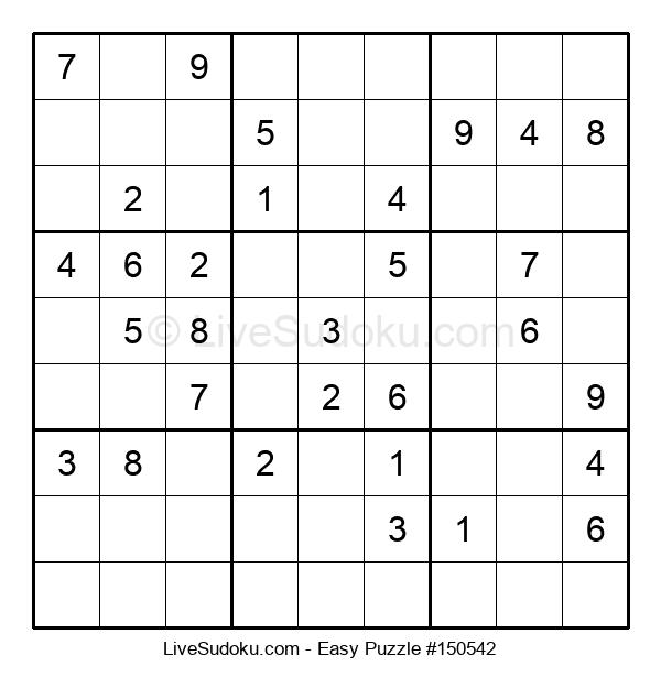 Beginners Puzzle #150542
