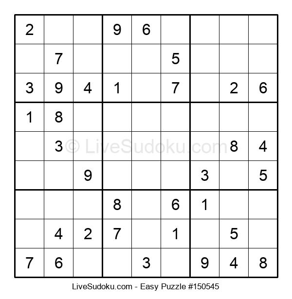 Beginners Puzzle #150545