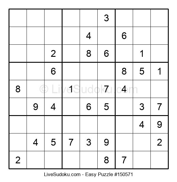 Beginners Puzzle #150571