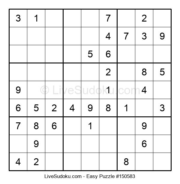 Beginners Puzzle #150583