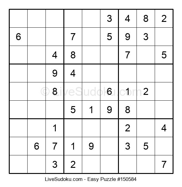 Beginners Puzzle #150584