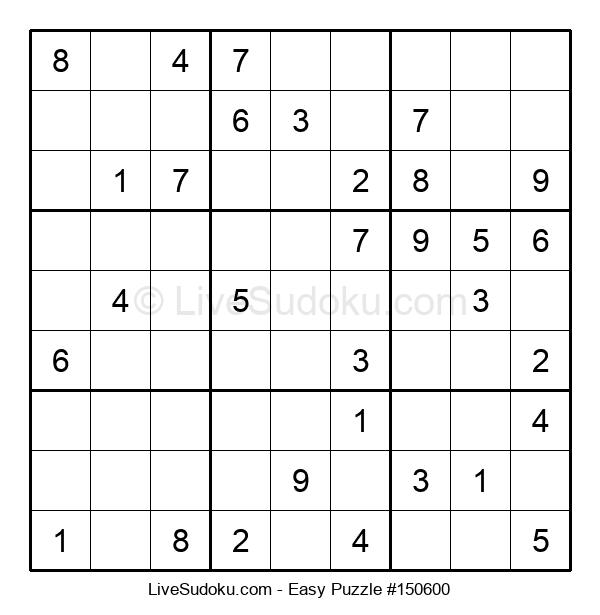 Beginners Puzzle #150600