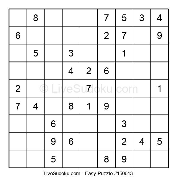 Beginners Puzzle #150613
