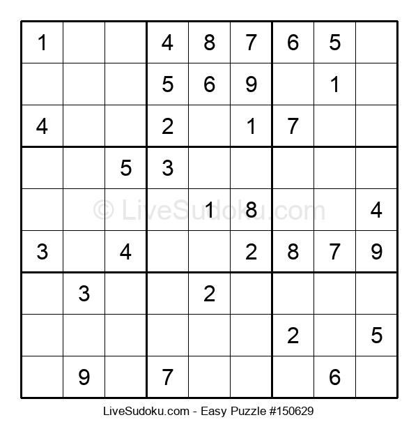 Beginners Puzzle #150629