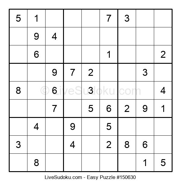 Beginners Puzzle #150630