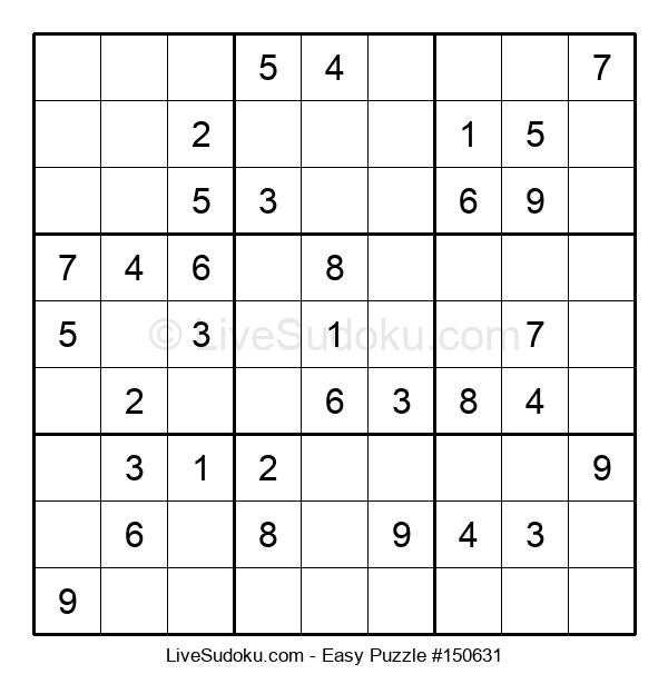Beginners Puzzle #150631
