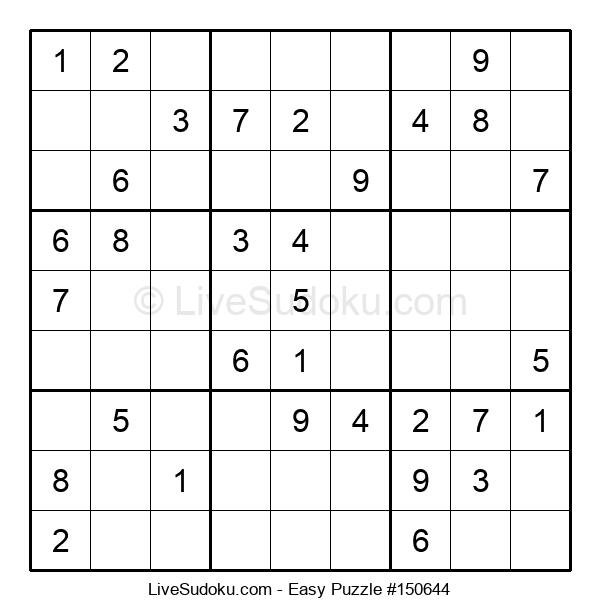 Beginners Puzzle #150644