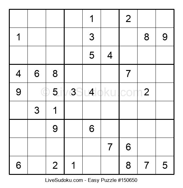 Beginners Puzzle #150650