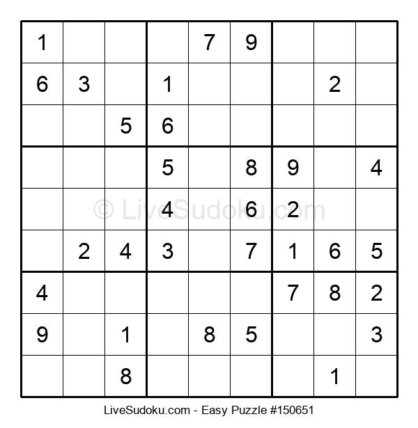 Beginners Puzzle #150651