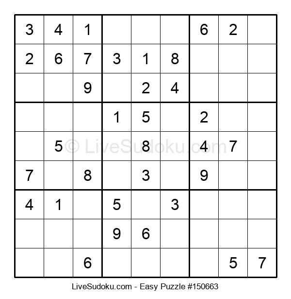 Beginners Puzzle #150663