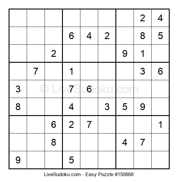 Beginners Puzzle #150668