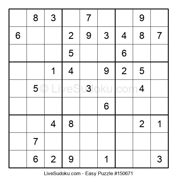 Beginners Puzzle #150671