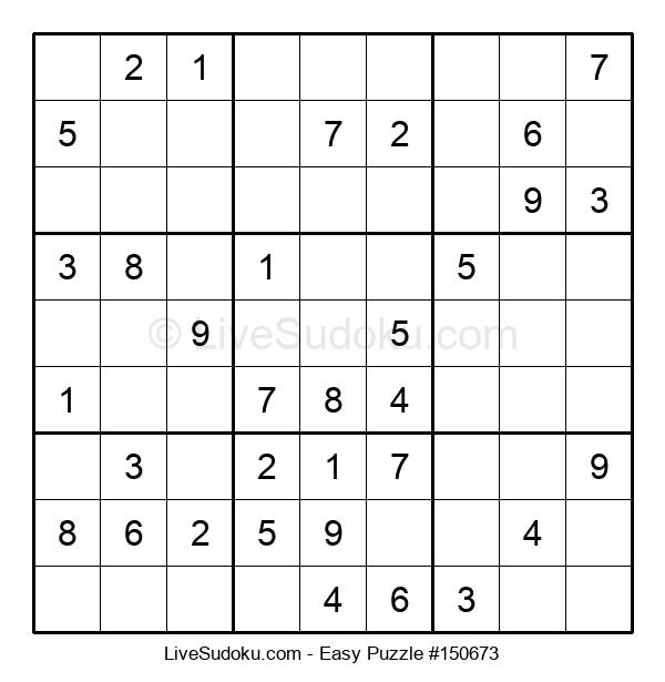 Beginners Puzzle #150673
