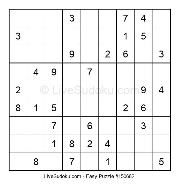 Beginners Puzzle #150682