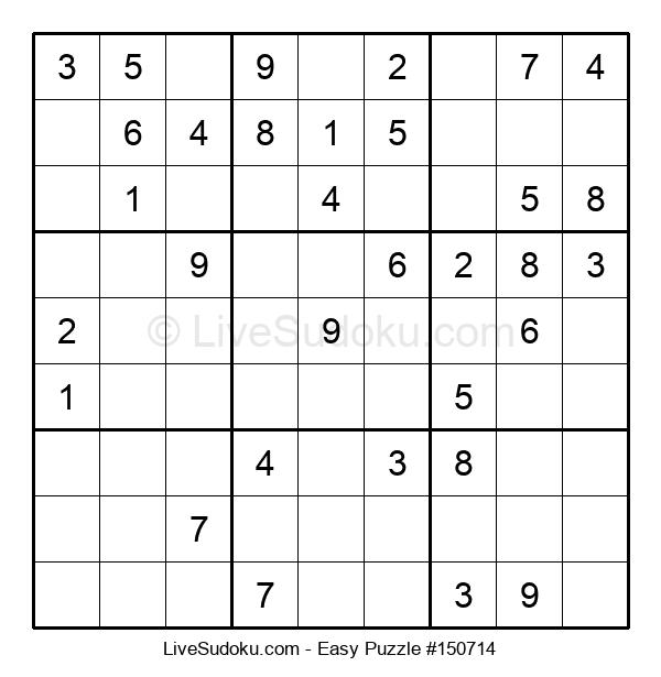 Beginners Puzzle #150714