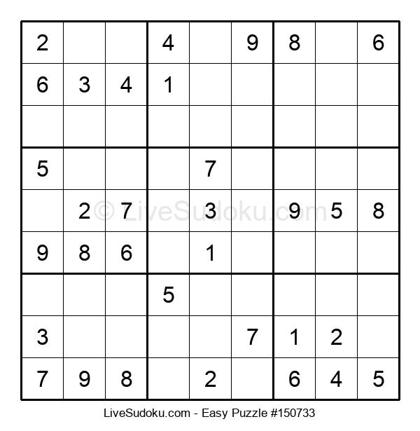 Beginners Puzzle #150733