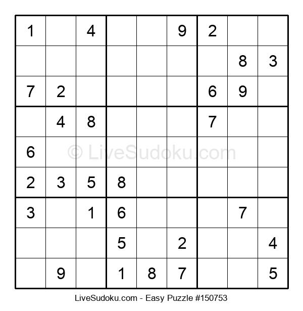 Beginners Puzzle #150753