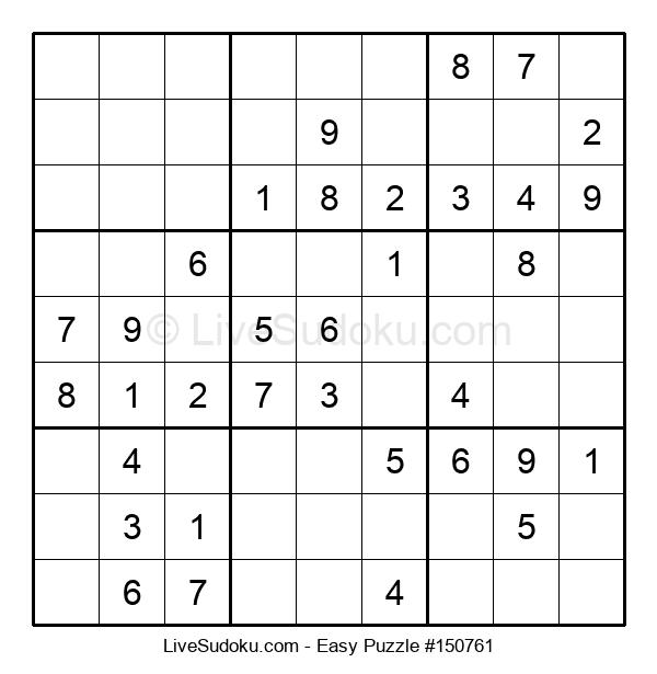 Beginners Puzzle #150761