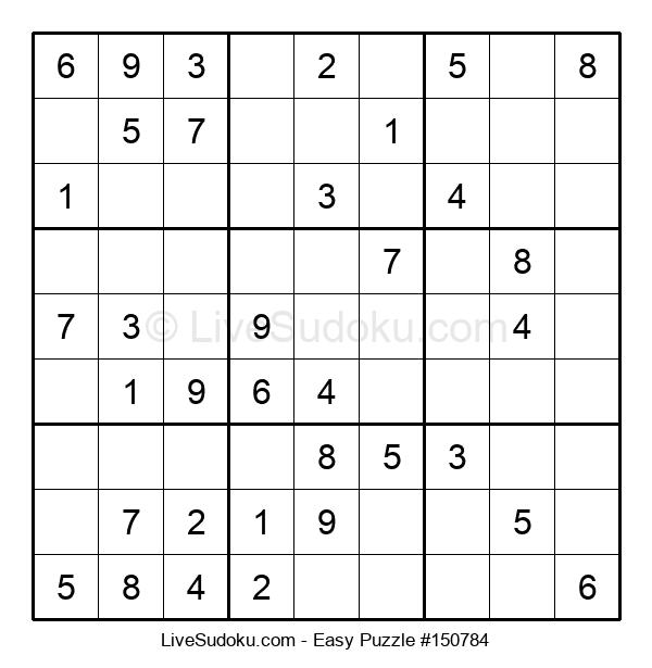 Beginners Puzzle #150784