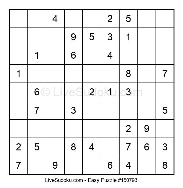 Beginners Puzzle #150793