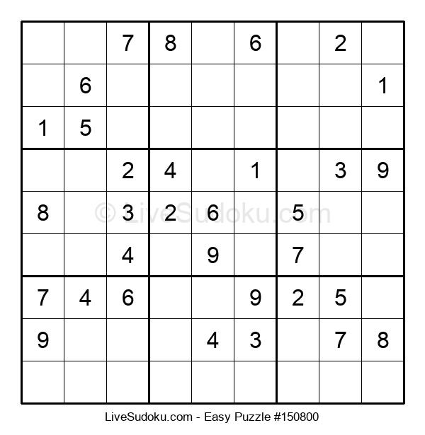 Beginners Puzzle #150800