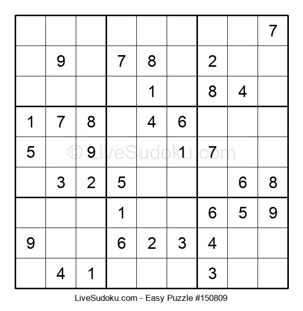 Beginners Puzzle #150809