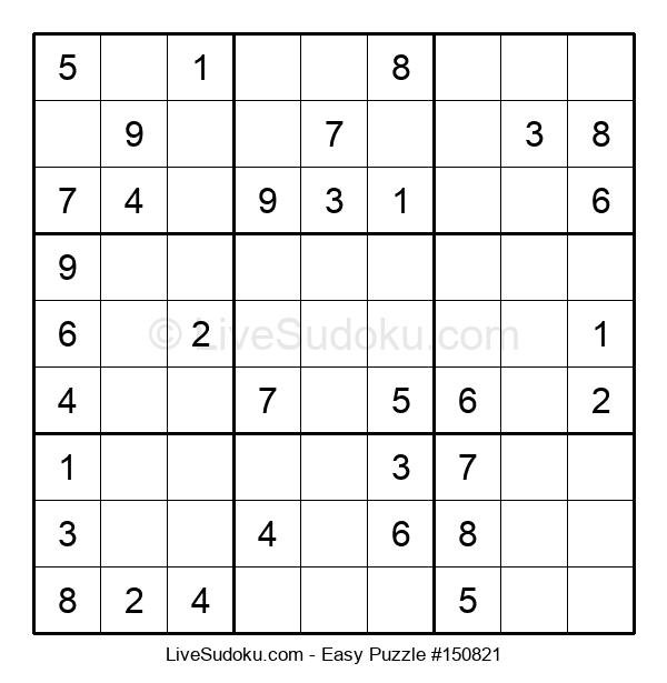 Beginners Puzzle #150821