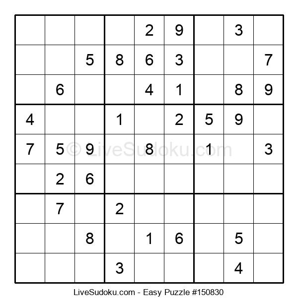 Beginners Puzzle #150830