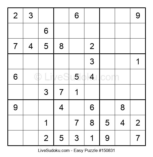 Beginners Puzzle #150831