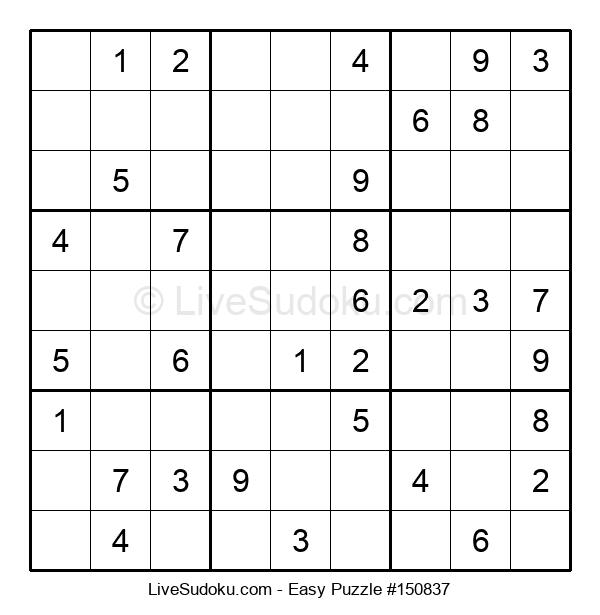 Beginners Puzzle #150837