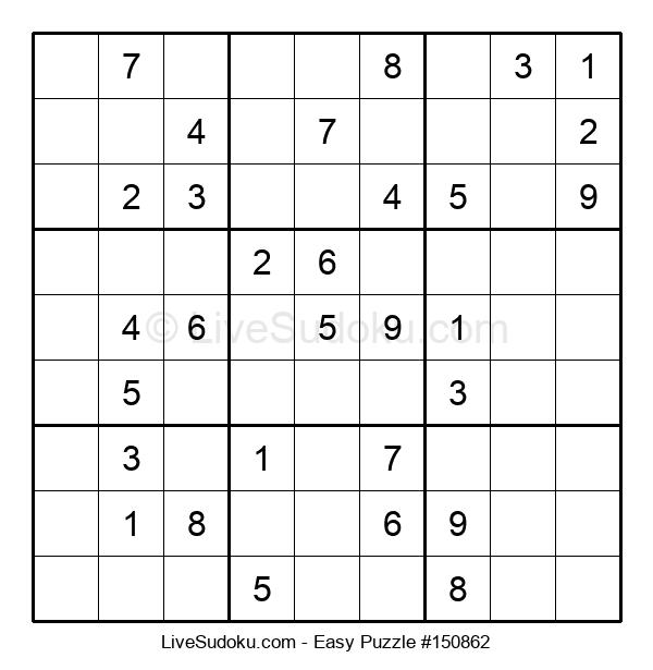 Beginners Puzzle #150862