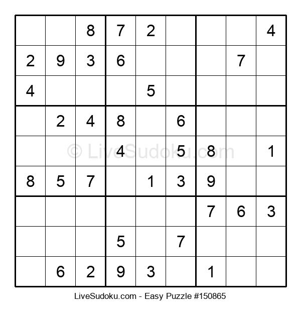 Beginners Puzzle #150865