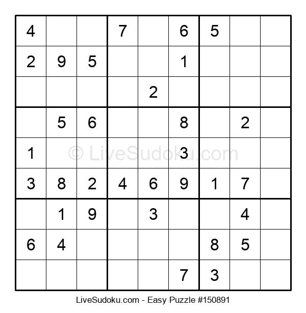 Beginners Puzzle #150891