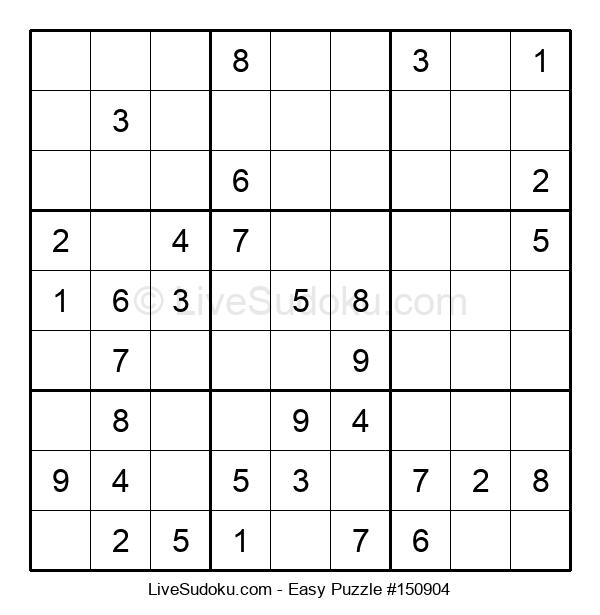 Beginners Puzzle #150904