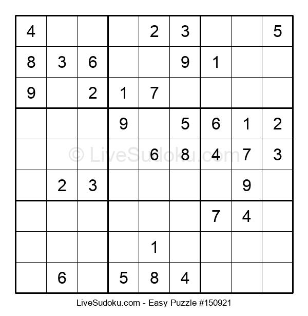 Beginners Puzzle #150921