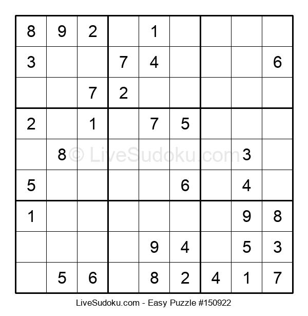 Beginners Puzzle #150922