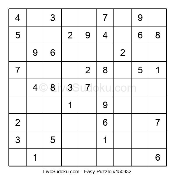 Beginners Puzzle #150932