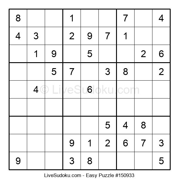 Beginners Puzzle #150933