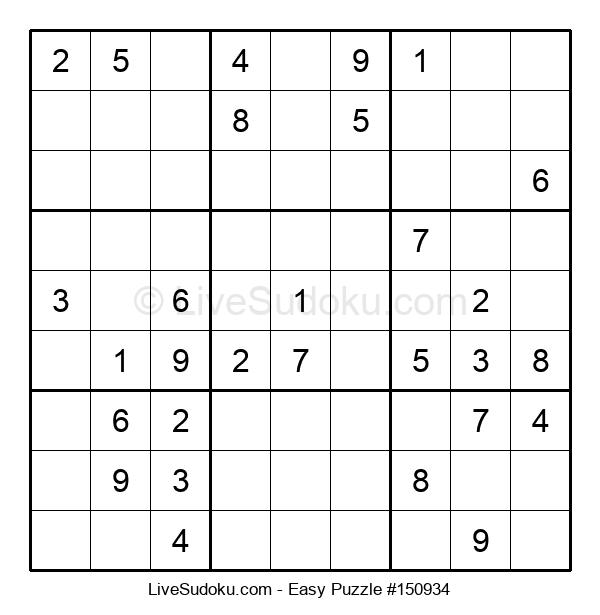 Beginners Puzzle #150934