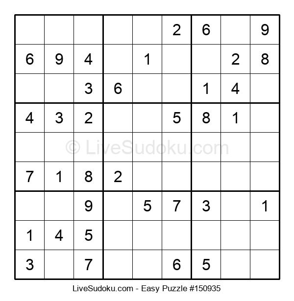 Beginners Puzzle #150935