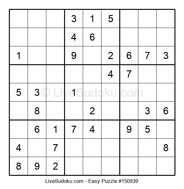 Beginners Puzzle #150939